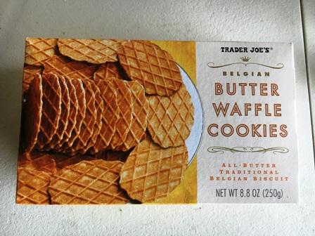 バターワッフルクッキー