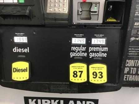 ガソリンスタンドの種類と値段表示