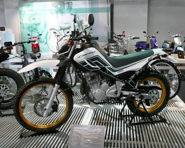 初心者・女性におすすめの250ccバイク ヤマハ セロー