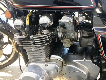 パワーフィルターの事例 旧車 KZ1000 モンキー